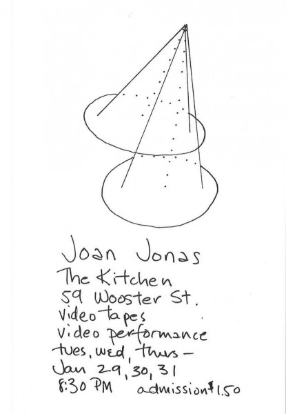 Card_Jonas_VideotapesVideoperformance_1974
