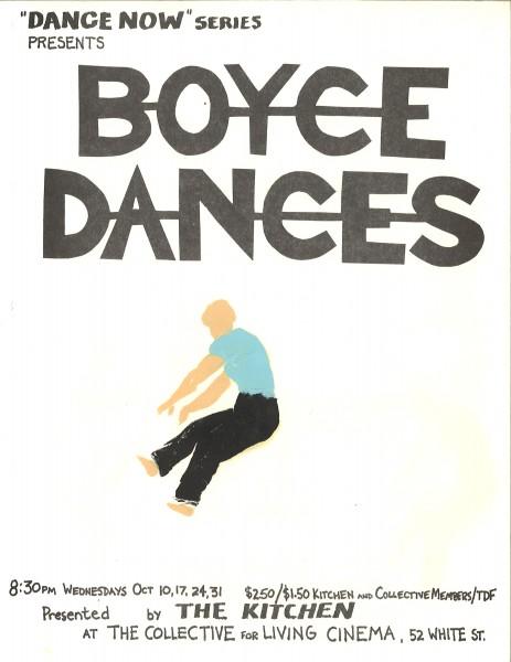 Poster_Boyce_Boyce Dances