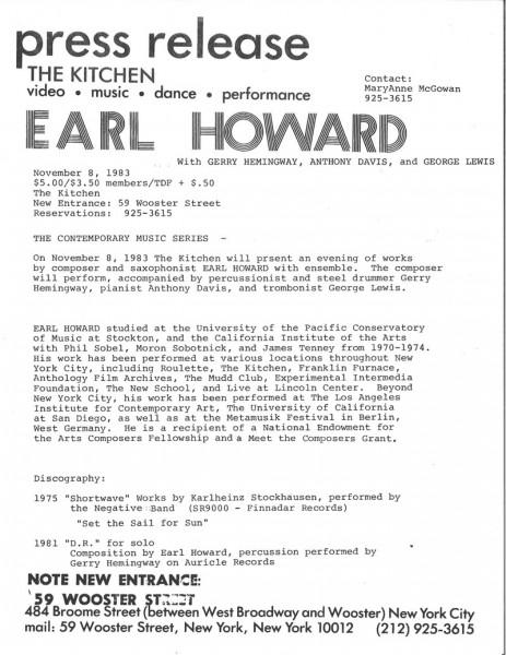 PressRelease1_Howard_ContemporaryMusicSeries_1983