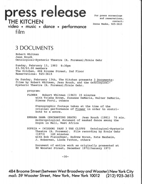 WebUse_PressRelease_Whitman_Robert_3Documents_1983