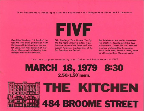 Flyer_FIVF_March_1979