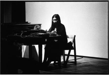 Rae Imamura at The Kitchen, September 16, 1980.